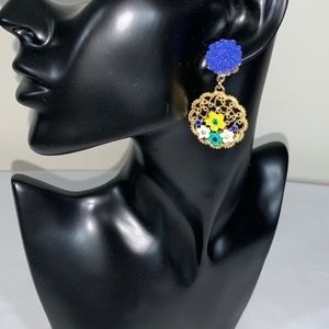 Jewelry - Floral Earrings